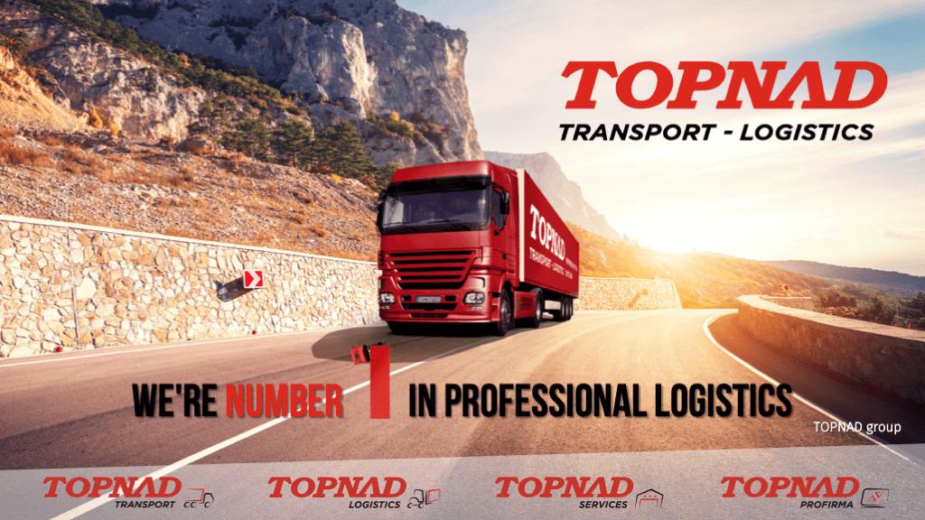 Transport logistics ukážka prezentácie