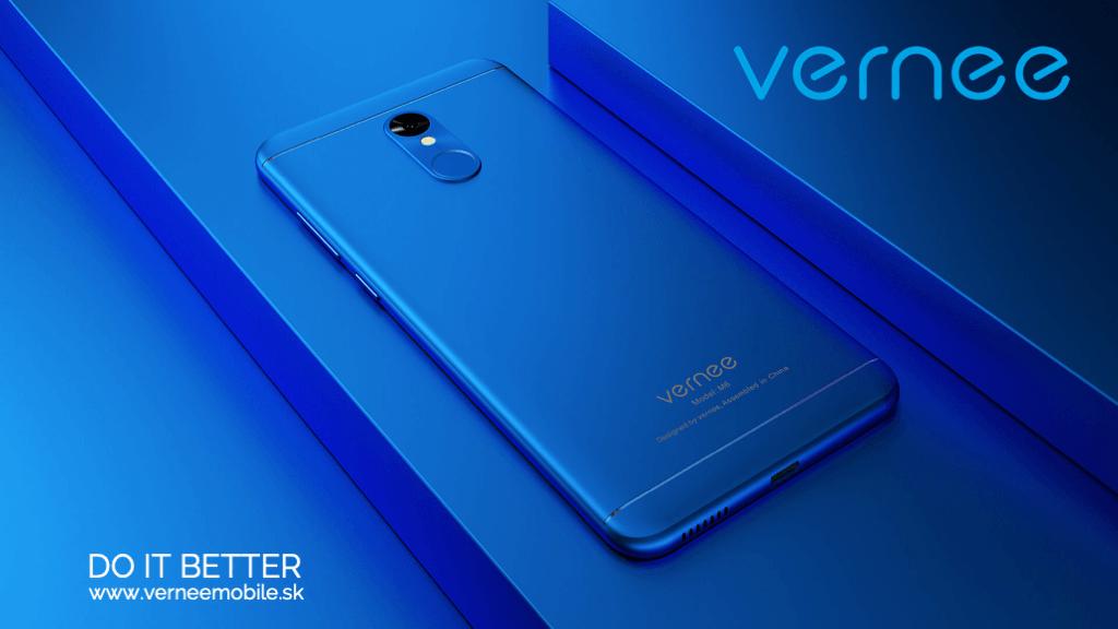 smartfon Vernee ukážka firemnej prezentácie na mieru