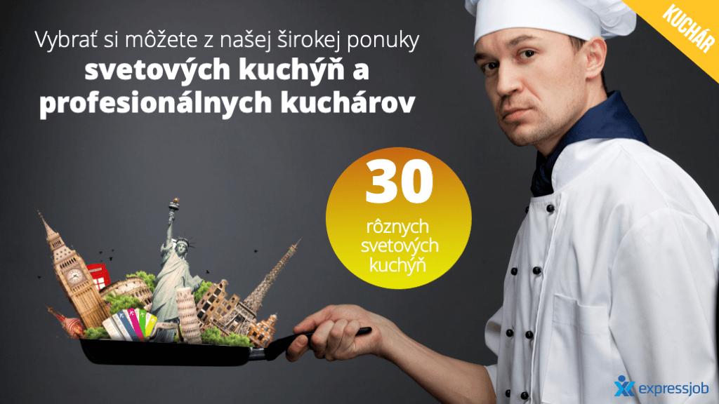 kuchár ukážka prezentácie