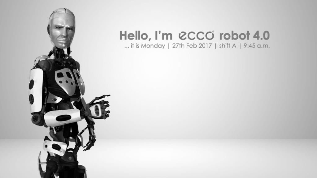 firemná prezentácia ecco robot